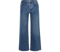Fawcett Hoch Sitzende Jeans mit Weitem Bein in Distressed-optik