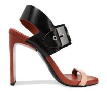 Asura Leather Sandals Schwarz