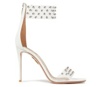 Illusion 105 Studded Pvc And Leather Sandals