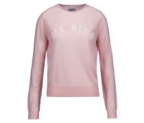 Appliquéd Wool Sweater Pastellrosa