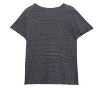Gestreiftes T-shirt aus Baumwoll-jersey