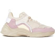 Curve Runner Sneakers aus Veloursleder und Mesh