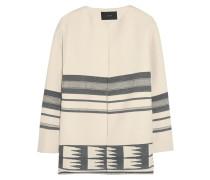 Collection Dorado Printed Cotton-blend Canvas Jacket Creme