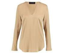 Mizar stretch-silk blouse