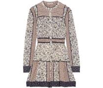 Luise Tiered Floral-print Cotton-blend Voile Mini Dress