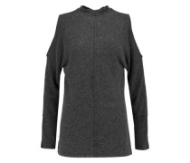 Gila cold-shoulder fleece sweater
