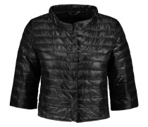 Elena Quilted Shell Jacket Schwarz