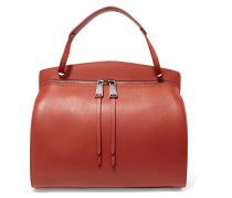 Blunt Medium Leather Shoulder Bag Rot