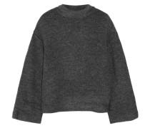 Kirk Stretch-bouclé Turtleneck Sweater Schiefer