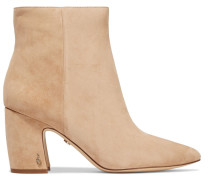 Hilty Suede Ankle Boots