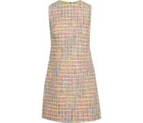 Coley Minikleid aus Bouclé-tweed aus Einer Baumwollmischung mit Metallic-effekt