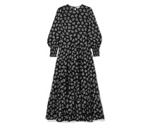 Pip Floral-print Tiered Fil Coupé Cotton Maxi Dress