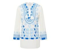 Ava Bluse aus Baumwollgaze mit Stickereien