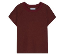 The Raglan Mélange Ribbed Jersey T-shirt