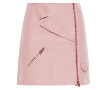 Bluse aus Chiffon aus Einer Seidenmischung mit Metallic-fil-coupé und Wickeleffekt
