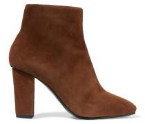 Suede Boots Braun