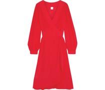Akemi Wrap-effect Voile Dress