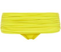 Mehrlagiges Halbhohes Bikini-höschen mit Raffungen