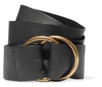 Leather Belt Schwarz