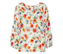 McKenna printed silk blouse