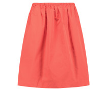 Taffeta Skirt Papaya