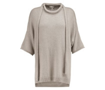 Sequinned cashmere and silk-blend sweater