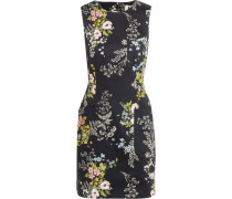 Harleyford floral-print stretch-cotton mini dress