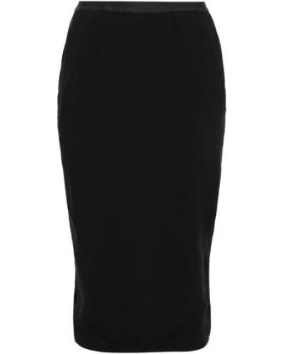 Cady Midi Pencil Skirt Black