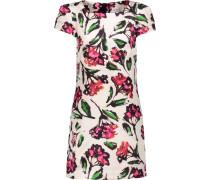 Chloe Floral-print Cotton-blend Mini Dress Mehrfarbig