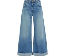 Noelle Hoch Sitzende Jeans mit Weitem Bein in ausgewaschener Optik