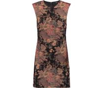Metallic Jacquard Mini Dress Mehrfarbig