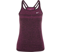 Dri-fit Knit Stretch-jersey Tank Magenta