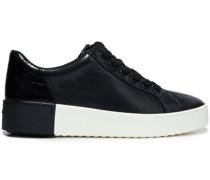 Bensley Sneakers aus Glattleder und Leder mit Krokodileffekt
