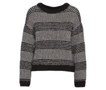 Alpaca-blend Sweater Schwarz