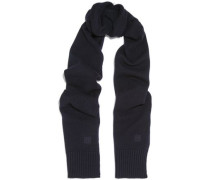Vervier ribbed merino wool and cashmere-blend scarf