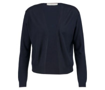Cashmere, wool and silk-blend cardigan