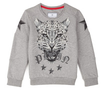 "Sweatshirt ""Crystal tiger"""