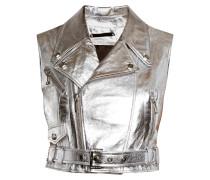 """leather vest """"vintage colours"""""""