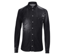 "Denim Shirt Ls ""Tatoo"""