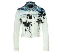 "Denim Jacket ""Palms"""