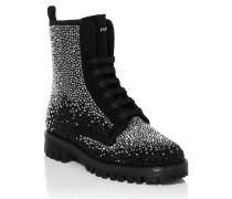 "Boots Low Flat ""shine to shine"""