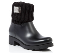 "Gummy flat low boots ""ixora"""