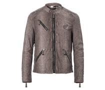 "Leather Moto Jacket ""Metro"""