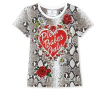 """T-shirt Round Neck SS """"Plein girls only"""""""