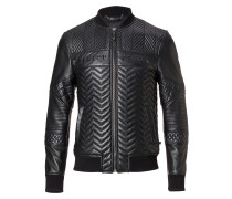 "Leather Bomber ""Lenao"""