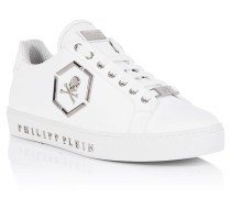 """Mid-Top Sneakers """"flames"""""""