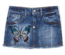 "denim skirt ""thrill"""