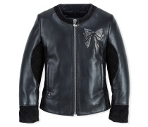 """Leather Jacket """"Brifht Knot"""""""