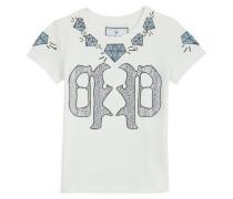 "T-shirt Round Neck SS ""White Fume"""