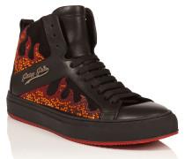 """Hi-Top Sneakers """"Tremors"""""""